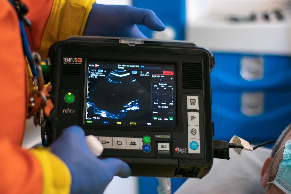 Tempus Pro aids emergency teams in Spain ESA
