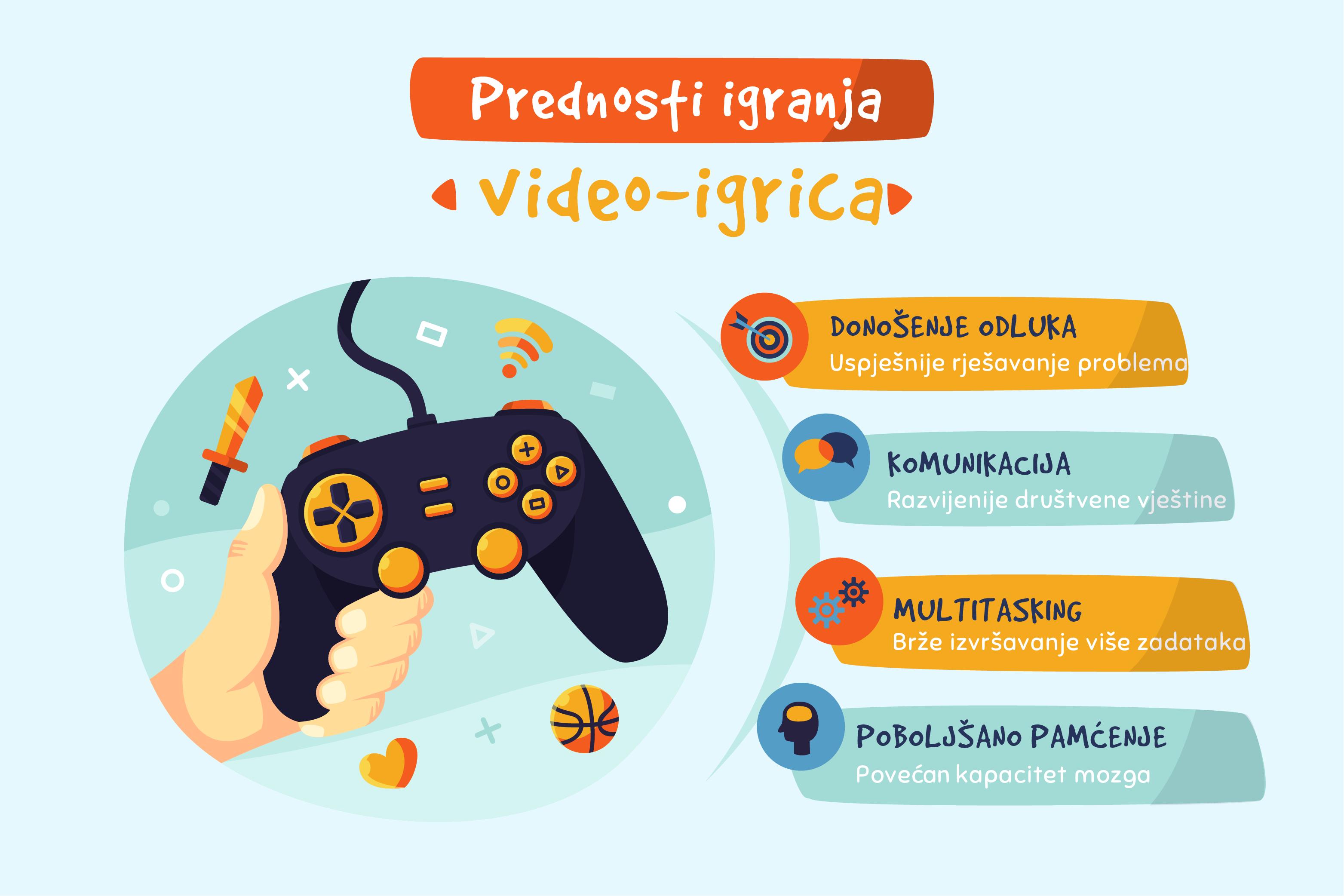 Prednosti video igrica