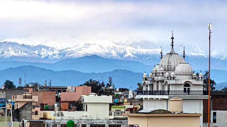 Himalaje iz Pathankot