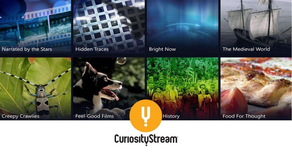 Curiosity Stream #BudimoRadoznali
