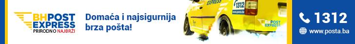 Brza dostava pošiljki unutar BiH