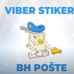 BH Pošta Viber stikeri